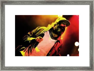 Matisyahu Live In Concert 2 Framed Print by Jennifer Rondinelli Reilly - Fine Art Photography