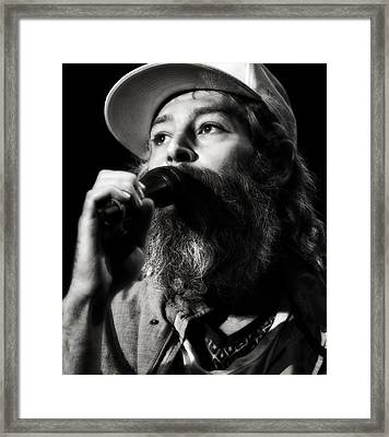 Matisyahu Live In Concert 3 Framed Print by Jennifer Rondinelli Reilly - Fine Art Photography