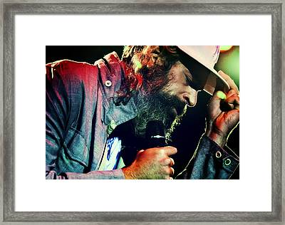 Matisyahu Live In Concert 7 Framed Print by Jennifer Rondinelli Reilly - Fine Art Photography