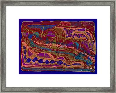 Matrix Framed Print by Meenal C