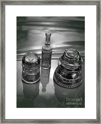 Matrix Under Glass Framed Print by The Stone Age