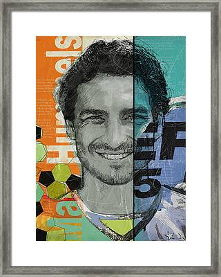Mats Hummels - B Framed Print by Corporate Art Task Force