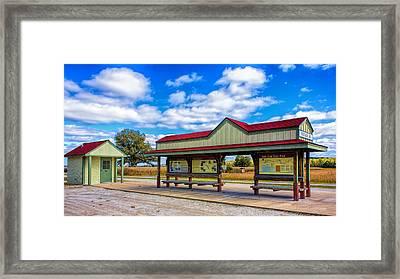 Matson Station Framed Print by Bill Tiepelman