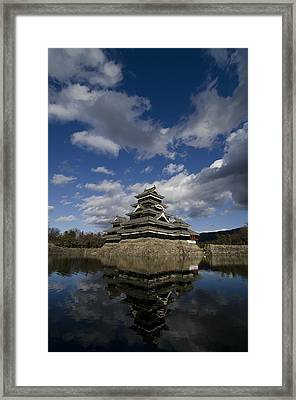 Matsumoto-jo Framed Print by Aaron Bedell
