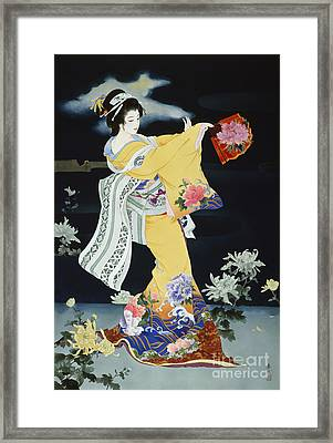 Matsuri Framed Print by Haruyo Morita