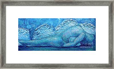 Framed Print featuring the painting Matsya by D Renee Wilson