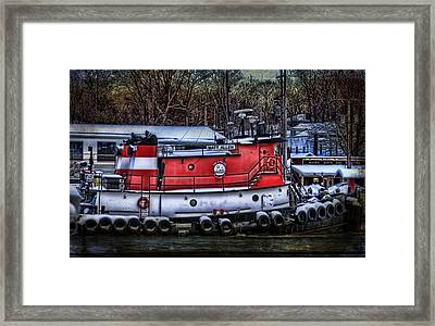 Matt Allen In Saugatuck Michigan Framed Print