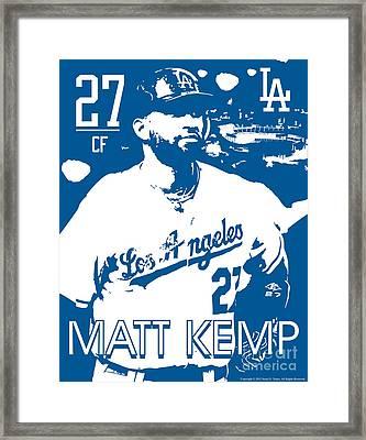 Matt Kemp Framed Print