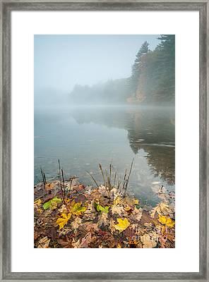 Mattatuck Mist Framed Print by JG Coleman