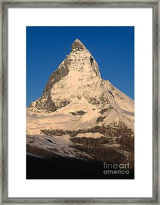 Matterhorn Framed Print by Art Wolfe