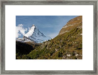 Matterhorn Framed Print by Bob Gibbons