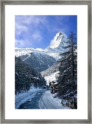 Matterhorn  Framed Print by Brian Jannsen