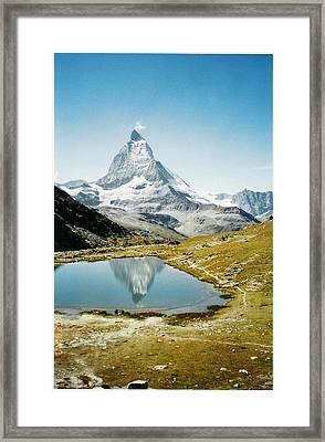 Matterhorn Cervin Reflection Framed Print