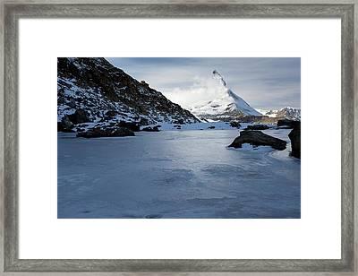 Matterhorn From Switzerland Framed Print by Bob Gibbons