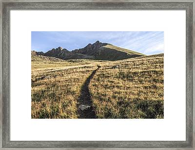 Matterhorn Peak - Colorado Framed Print