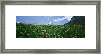 Matterhorn Switzerland Framed Print
