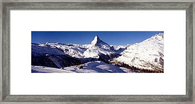 Matterhorn, Zermatt, Switzerland Framed Print