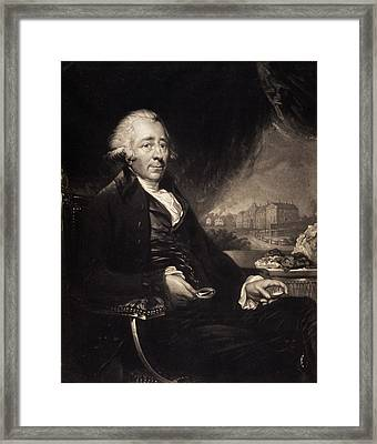 Matthew Boulton Framed Print by Gregory Tobias/chemical Heritage Foundation
