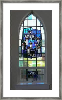 Matthew Five Eleven Framed Print