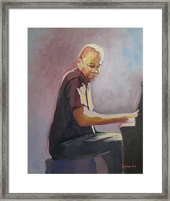 Matthew Shipp New York Pianist Framed Print