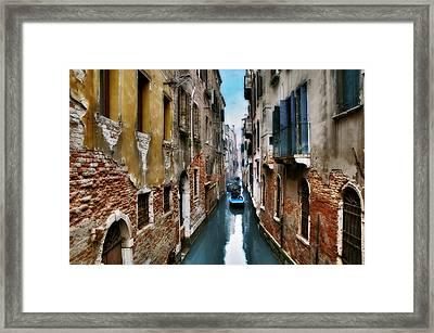Mattinata. Venezia Framed Print by Juan Carlos Ferro Duque