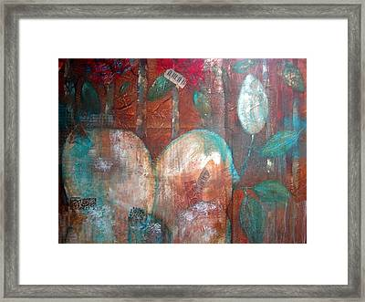 Maturity/new Birth Framed Print