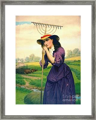 Maud Muller 1868 Framed Print by Padre Art