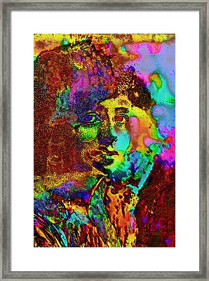 Maude Adams Framed Print by David Blank