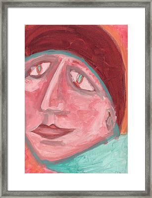 Maudlin Framed Print by Donna Crist