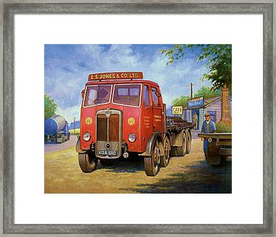Maudslay Meritor Framed Print by Mike  Jeffries