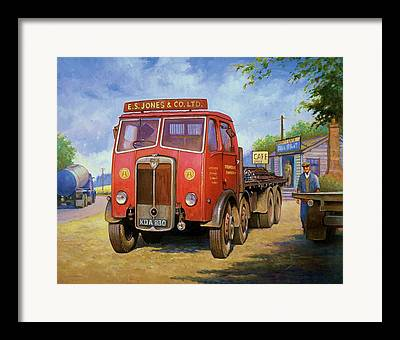 Haulage Framed Prints