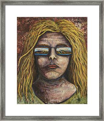 Framed Print featuring the painting Maui 20/20 by Darice Machel McGuire