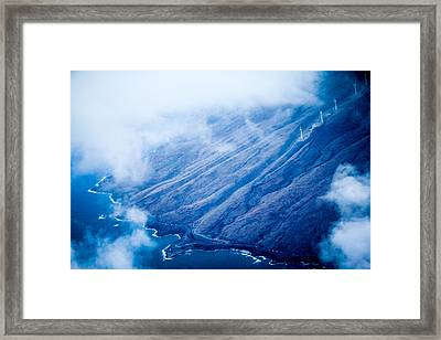 Framed Print featuring the photograph Maui by Cathy Donohoue