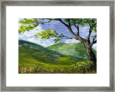 Maui Landscape Framed Print by Darice Machel McGuire