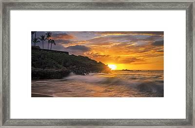 Maui Magic Framed Print