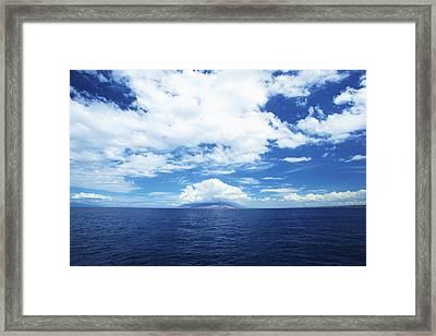 Maui Sea And Sky Framed Print