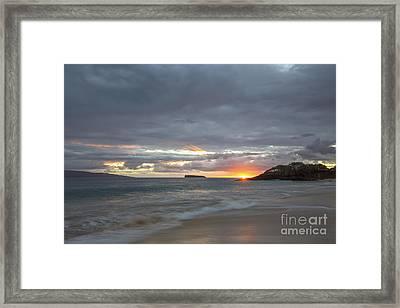 Maui Framed Print