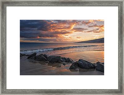 Framed Print featuring the photograph Maui Sunbathe by Hawaii  Fine Art Photography