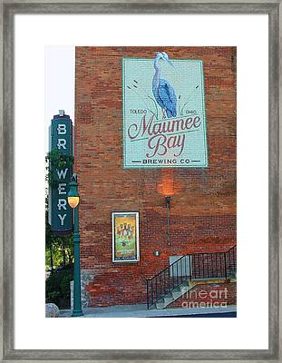 Maumee Bay Brewing Company 2135 Framed Print