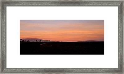 Mauna Kea And Mauna Loa Framed Print by Stephen Green