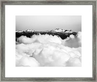 Mauna Kea Framed Print