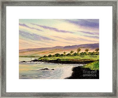 Mauna Kea Golf Course Hawaii Hole 3 Framed Print