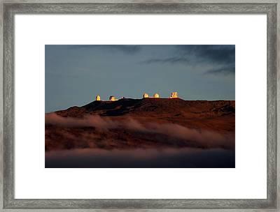 Mauna Kea Framed Print by Pamela Walton