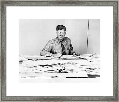 Maurice Ewing (1906-1974) Framed Print