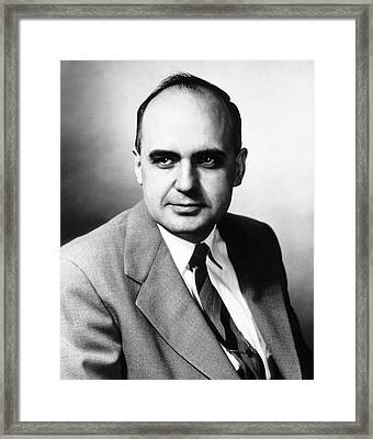 Maurice Hilleman Framed Print by National Library Of Medicine