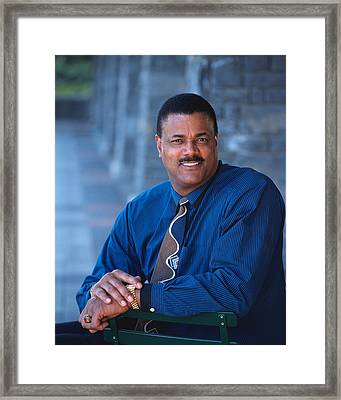 Maurice Lucas The Enforcer Framed Print