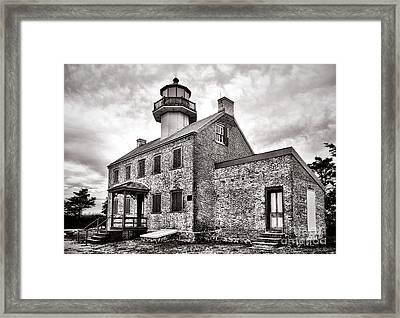 Maurice River Light Framed Print