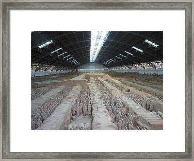 Mausoleum Precinct Framed Print