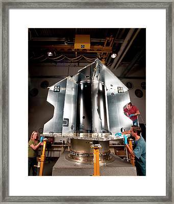 Maven Spacecraft Framed Print by Nasa/lockheed Martin