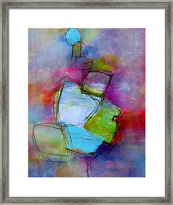 Framed Print featuring the painting Maverick by Katie Black